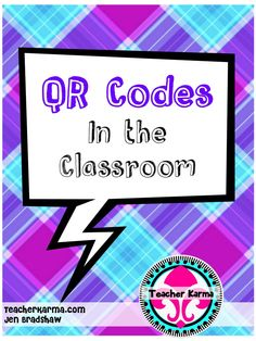 FREE:  How to use QR codes in the classroom.  Every teacher needs to read this blog post and download the FREE documents.  FREEBIE for teachers! #free #teachers