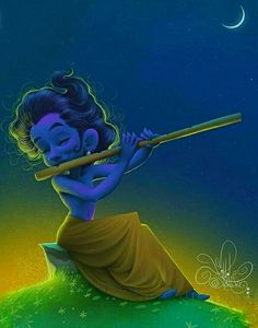 ❤❣☘ Krishna Leela, Cute Krishna, Lord Krishna Images, Radha Krishna Pictures, Krishna Radha, Radhe Krishna Wallpapers, Lord Krishna Wallpapers, Krishna Drawing, Krishna Painting