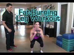 Fat-Burning Leg Workout - YouTube