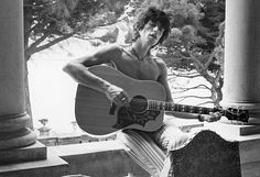 Keith Richards at Nellcote