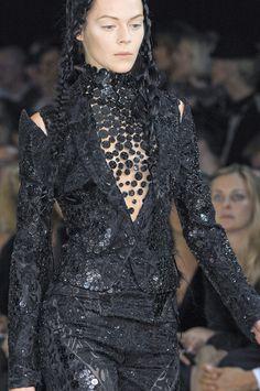 Alexander McQueen at Paris Spring 2011 (Details)