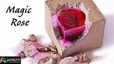 Making a beautiful Magical, SECRET, glowing ROSE 🌹 Resin Crafts, Resin Art, Resin Tutorial, Night Lamps, Epoxy, The Creator, Glow, Rose, Youtube