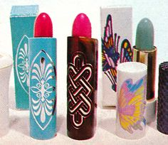 Avon 'Pop-Top' Lipsticks, 1972-73 & 'Color Magic' Lipstick, 1974
