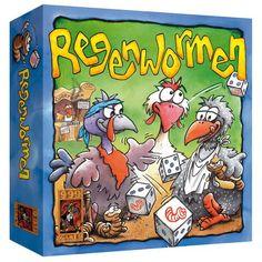 Leuk spel !! | Regenwormen - Dobbelspel,999 Games | Speelgoed
