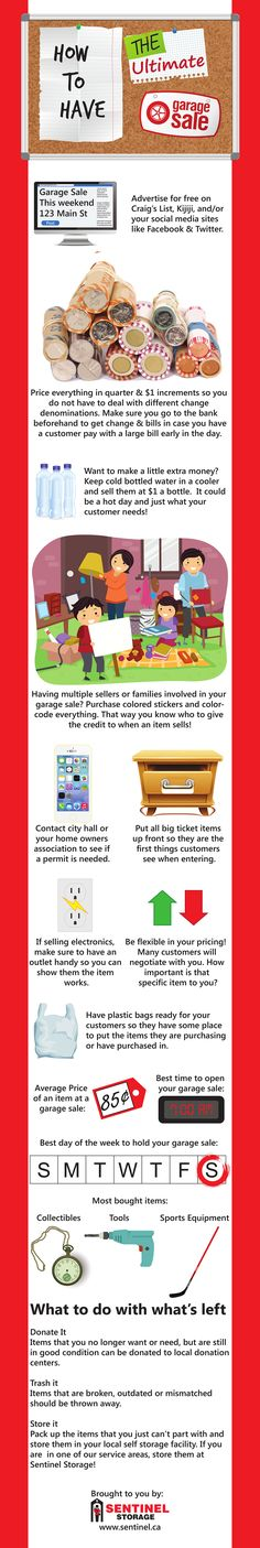 How to Have a Successful Garage Sale: Planning & Tips