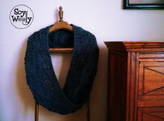 Teje un cuello infinito fácil y rápido con dos agujas | Soy Woolly Tutorial, Knitting Patterns, Knit Crochet, Baby, Fashion, Beret, Knitted Gloves, Moda, Knit Patterns