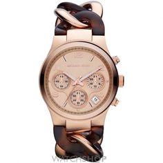 Ladies Michael Kors Runway Chronograph Watch MK4269
