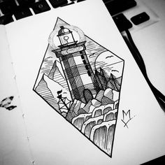 64 trendy Ideas for house drawing light 3d Drawings, Realistic Drawings, Drawing Faces, Drawing Sketches, Pencil Drawings, Tattoo Painting, Art Style Challenge, House Drawing, Symbolic Tattoos