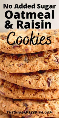 Diabetic Cookie Recipes, Sugar Free Cookie Recipes, Sugar Free Deserts, Diabetic Friendly Desserts, Sugar Free Baking, Sugar Free Sweets, Sugar Free Cookies, Low Carb Desserts, No Sugar Desserts