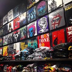 PULP has a MASSIVE selection of band merch in stores and online! We have everyone from AC/DC to You Me At Six.  So whatever you're into, head to your nearest PULP store or visit our website to browse the full selection > http://www.thisispulp.co.uk/Pages/BandMerchandise
