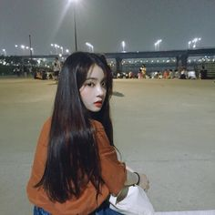 Designer Clothes, Shoes & Bags for Women Korean Girl Ulzzang, Cute Korean Girl, Kfashion Ulzzang, Korean Beauty, Asian Beauty, Uzzlang Girl, Ulzzang Fashion, Ootd Fashion, Asia Girl