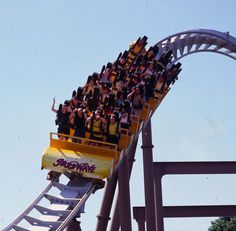 Shockwave, #Drayton Manor Park. #rollercoaster