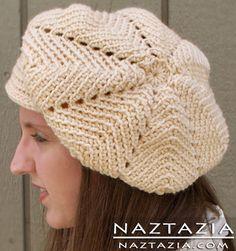 Free Pattern - Crochet Tom Boy Cap Hat