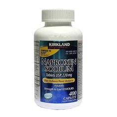 Amazon.com: Naproxen Sodium by Kirkland Signature - 400 caplets 220 mg Non Prescription Strength - Compare to the active ingredient in Aleve (Pack of 2): Health & Personal Care