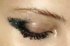 Glossy + sparkles