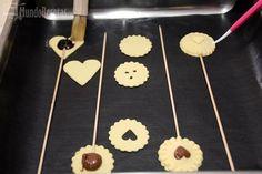 Piruletas de chocolate y amor