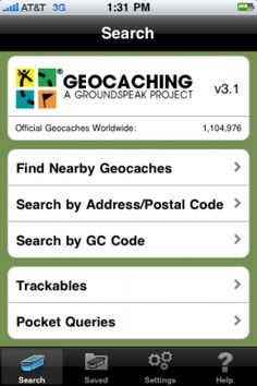 Love Geocaching!! Good information using your phone.