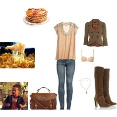 Lorelai Gilmore - a day with her godson by lorelai593 on Polyvore featuring mode, Calypso St. Barth, Miss Selfridge, Forever 21, Nude, Rupert Sanderson, Dorothy Perkins, ever, aunt and coolest