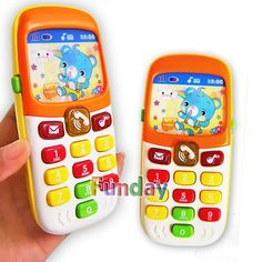Buy Electronic Toy Phone Kid Mobile Phone Cellphone Telephone Educational Learning Toys Music Baby Infant Phone Best Gift for kid Toy Supermarket, Baby Toys, Kids Toys, Tactile Sense, Learning Toys, Learning Music, Learning Activities, Electronic Toys, Early Education