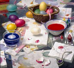 Will Willson «Крашение яиц»