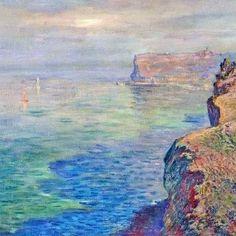 Monet, le rocce a Grainval vicino Fécamp (1882)