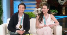 Ellen DeGeneres Demands to Know Whether Scott Moir and Tessa Virtue Are a Couple