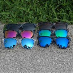 new design Brand logo men sunglasses women Candy novelties buffalo horn glasses Classic Gafas de sol Goggles Processing