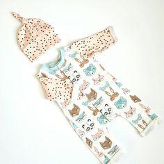 organic baby girl romper. Newborn baby www.etsy.com/listing/250012520/organic-newborn-take-home-outfit-animal