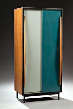 Willy van der Meeren; Petite Cabinet for Tubax, c1952.