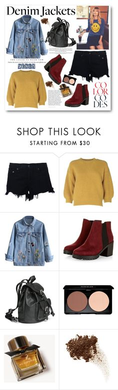 """""""Denim Trend: Jean Jackets 2"""" by cindy88 ❤ liked on Polyvore featuring Mother, rag & bone, 3.1 Phillip Lim, Burberry and jeanjackets"""