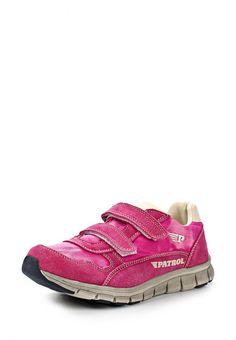 Кроссовки Patrol для девочек. Цвет: розовый. Материал: спилок, текстиль. Сезон: Весна-лето 2014. С бесплатной доставкой и примеркой на Lamoda. http://j.mp/1nLJHUG