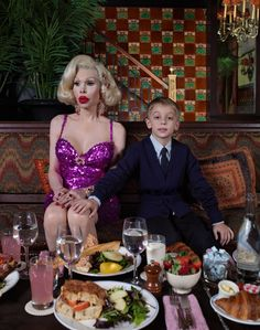 There must be more to life by Elias Wessel with Amanda Lepore #photography #gender #model #nyc #schonmagazine