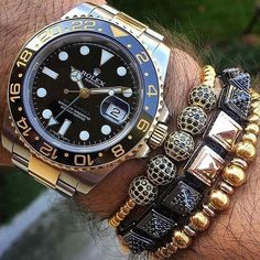 Rolex GMT-Master II x @shopzenger Bracelets  via LUXURY LIFESTYLE MAGAZINE OFFICIAL INSTAGRAM - Luxury  Lifestyle  Culture  Travel  Tech  Gadgets  Jewelry  Cars  Gaming  Entertainment  Fitness
