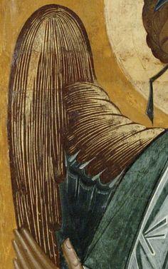 """Иконописная мастерская """"Добро"""".Пермская икона. Painting, Byzantine Art, Painting Art, Paintings, Painted Canvas, Drawings"""
