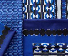Cobalt with Navy: Nova Table Linens #serenaandlily