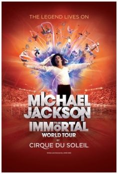 Cirque Du Soleil: Michael Jackson.  Budweiser Gardens Oct 2012.  Amazing!