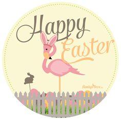 Happy Easter! Flamingobox.de