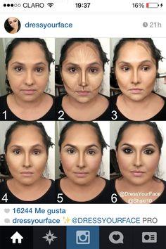 5 astuces maquillage pour mettre en valeur un visage rond maquillage pinterest visages. Black Bedroom Furniture Sets. Home Design Ideas