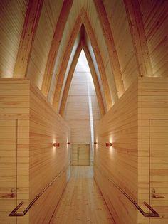 St. Henry's Ecumenical Art Chapel by Sanaksenaho Architects | Church architecture / community centres