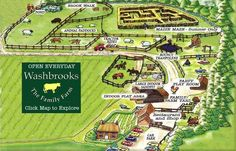 Image result for farm tour map Indoor Play Areas, Tourist Map, Sand Pit, Farm Yard, Acre, Pond, Tours, Autumn, Explore