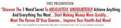 Miracle Mind Method: FREE Video Presentation!