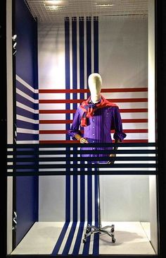 VM Choice: Stripes at Thomas Pink - Retail Design World