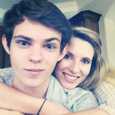 Robbie Kay and his sister why are they gorgeous why why why i cannot function anymore