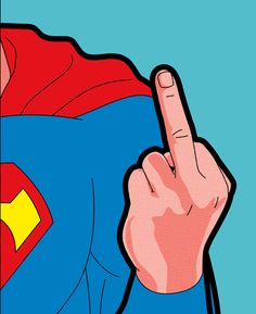 Cartoon Hand Middle Finger F*ck You Flip Bird Gloved White Off Go Men/'s Thermal