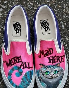 Cheshire cat vans.  Where can I get these?
