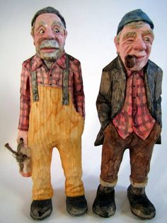 Kevin Coates Wood Carving.