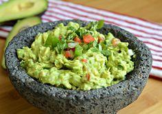 Guacamole recipe - avocado, tomatoes, onion, jalapeño, cilantro, lime