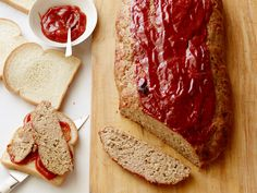 Meatloaf Turkey Meatloaf Recipe : Ina Garten : Food Network - We are having this about once a week. Everyone loves itTurkey Meatloaf Recipe : Ina Garten : Food Network - We are having this about once a week. Everyone loves it Ina Garten Turkey Meatloaf, Food Network Recipes, Cooking Recipes, Easy Recipes, Beef Recipes, Chicken Recipes, Recipies, Meatloaf Recipes, Gourmet