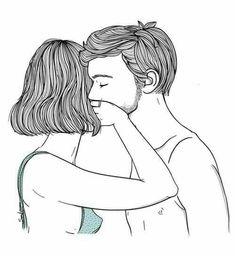 Immagine di love, couple, and art