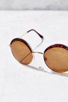 ad52fa67c572da Wink Round Sunglasses - Urban Outfitters Ray Ban Sunglasses Outlet, Round  Sunglasses, Urban Outfitters